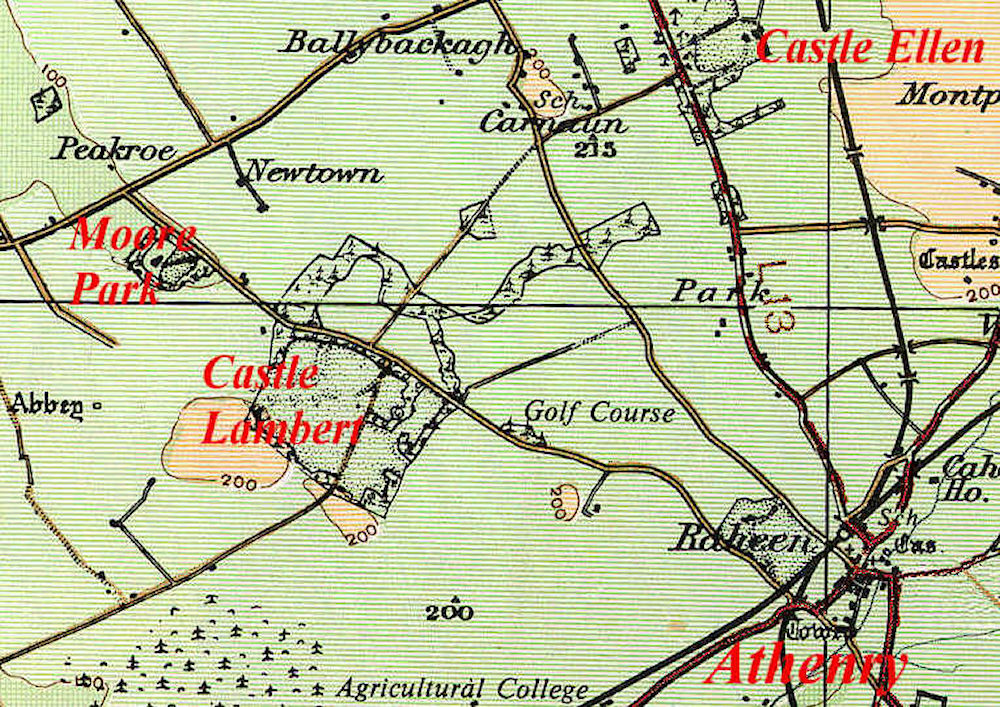 Athenry Lambert Map